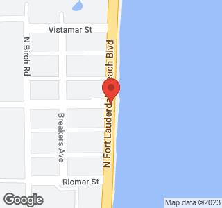 601 N Ft Lauderdale Beach Boulevard, Unit #715