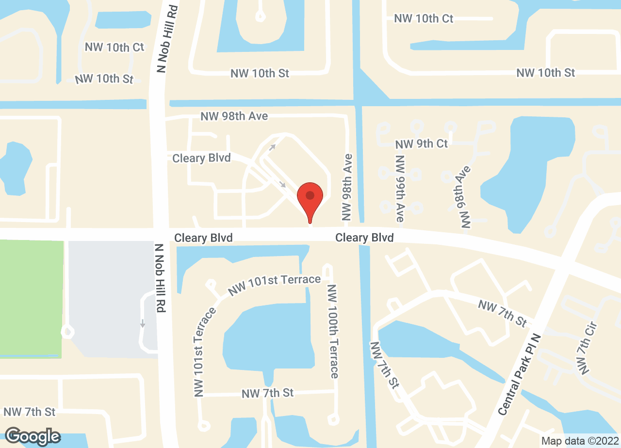 Google Map of VCA Central Park Animal Hospital
