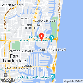 Map of Ann Taylor at 2338 East Sunrise Blvd, Fort Lauderdale, FL 33304
