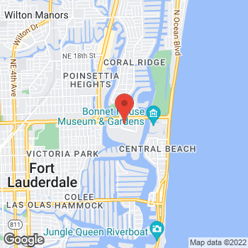 Map of Michael Kors at 2414 East Sunrise Blvd, Ft Lauderdale, FL 33304