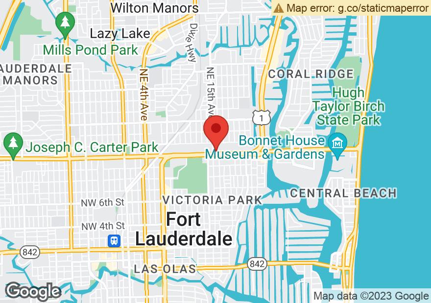Google Map of 1515 E SUNRISE BLVD