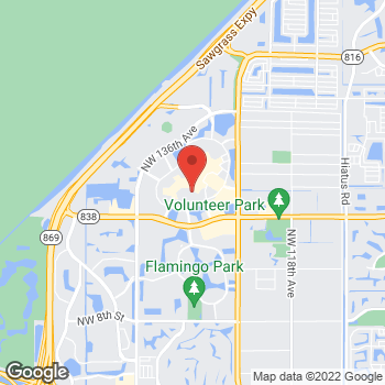 Map of Michael Kors Mens Outlet at 1800 Sawgrass Mills Circle, Sunrise, FL 33323