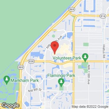 Map of Michael Kors Outlet at 12801 West Sunrise Blvd, Sunrise, FL 33323