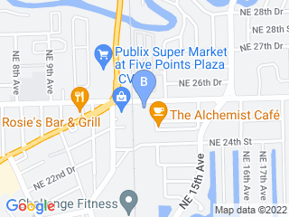 Map of Arbor Pet Hospital Dog Boarding options in Fort Lauderdale | Boarding