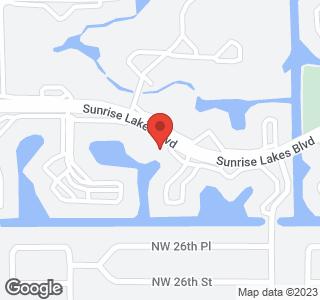 9480 Sunrise Lakes Blvd, Unit #112