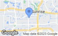 Map of Sunrise, FL
