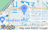 Map of Sunrise, FL