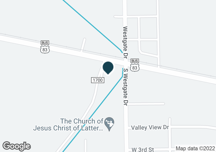 Google Map of1701 W BUSINESS 83