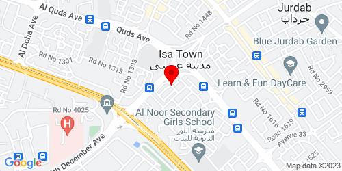 Google Map of 26.163545, 50.56471