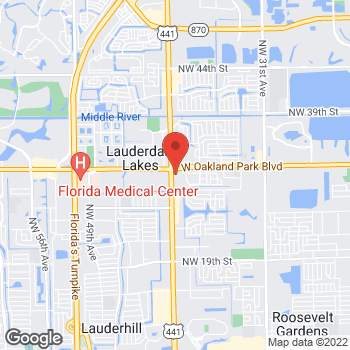 Map of Value Pawn & Jewelry at 2950 N. State Road, Lauderdale Lakes, FL 33313