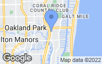 Map of Ft Lauderdale, FL