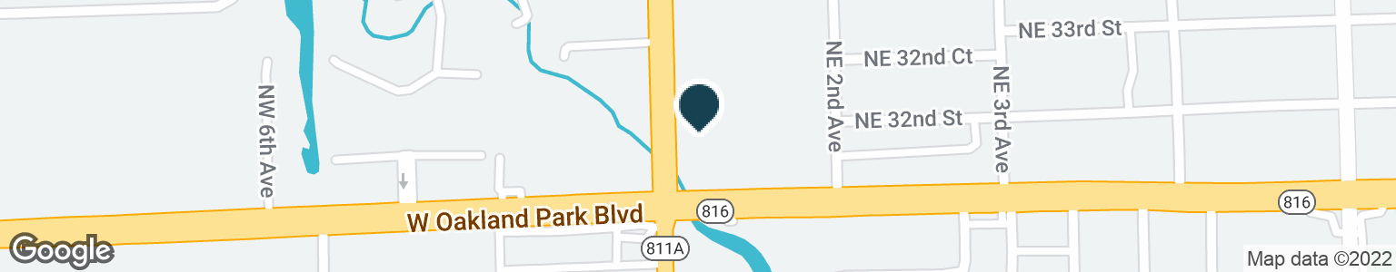 Google Map of3100 N ANDREWS AVE