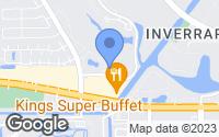 Map of Lauderhill, FL