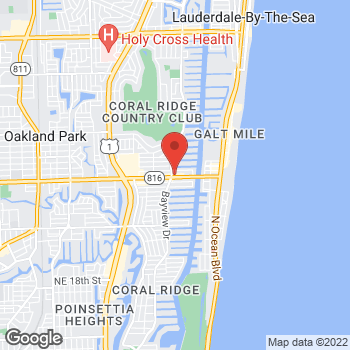 Map of Hair Cuttery at 2811 East Oakland Park Boulevard, Fort Lauderdale, FL 33306