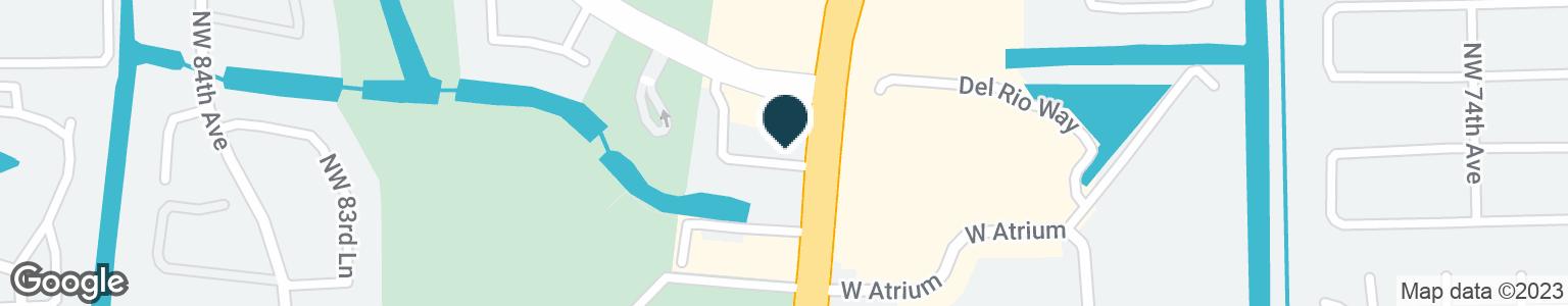 Google Map of3599 N UNIVERSITY DR