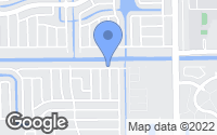 Map of Lauderdale Lakes, FL
