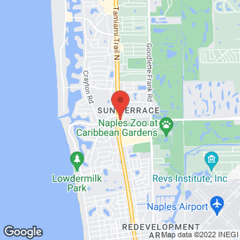 Map of Panera Bread at 2184 Tamiami Trail N, Naples, FL 34102