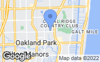 Map of Oakland Park, FL