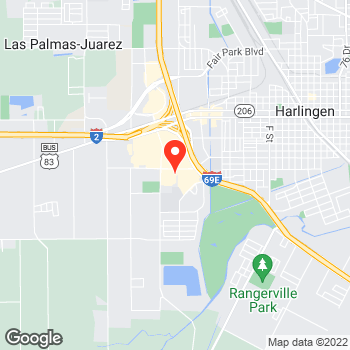 Map of Pizza in Harlingen, TX – Cicis Pizza at 2025 W Lincoln St, Harlingen, TX 78552