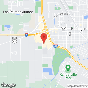 Map of Check `n Go Lincoln Street at 2217 West Lincoln Street, Harlingen, TX 78552