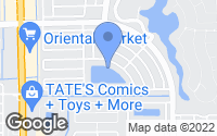 Map of Lauderhill, FL