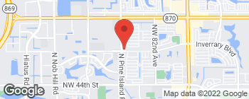 Map of 8759 NW 50th St in Lauderhill