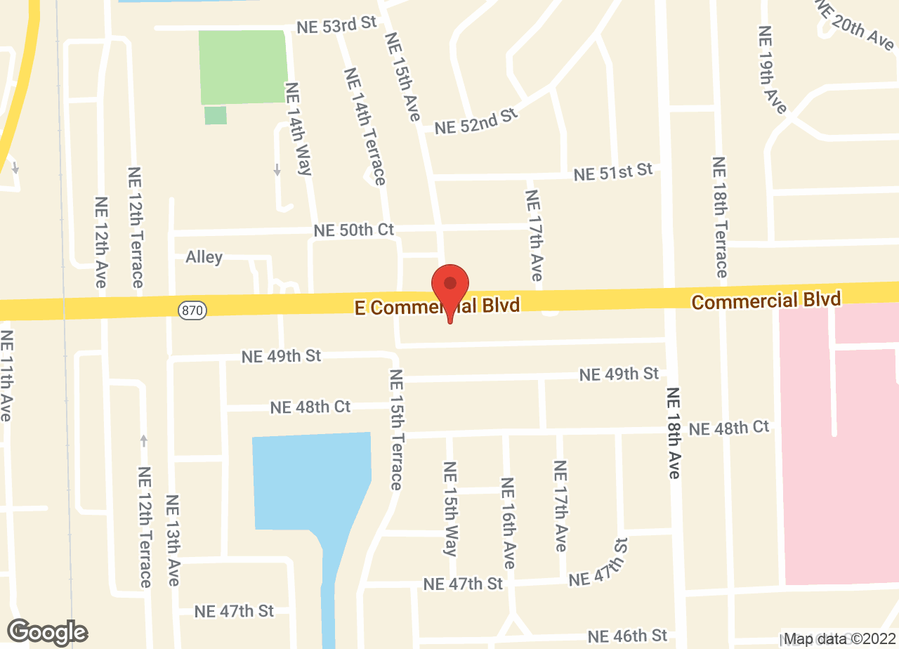 Google Map of VCA Imperial Point Animal Hospital