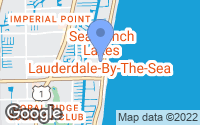 Map of Lauderdale-by-the-Sea, FL