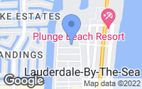 Map of Lauderdale By The Sea, FL
