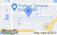 Map of Tamarac, FL