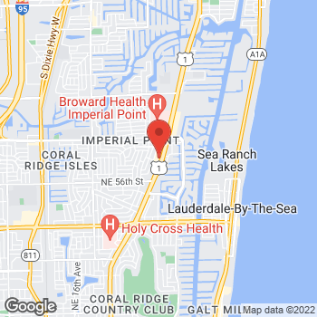 Map of Panera Bread at 5975 N. Federal Highway, Ft. Lauderdale, FL 33308