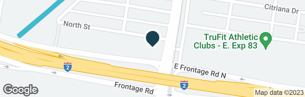 Google Map of100 W EXPRESSWAY 83