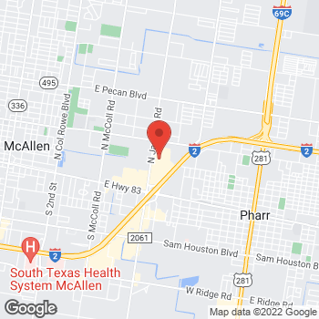 Map of buybuy BABY at 500 North Jackson Road, Pharr, TX 78577