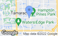 Map of North Lauderdale, FL