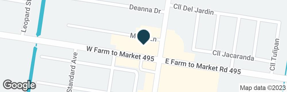 Google Map of101 W FM 495