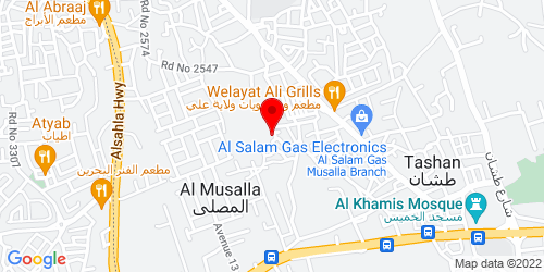 Google Map of 26.211306, 50.540225