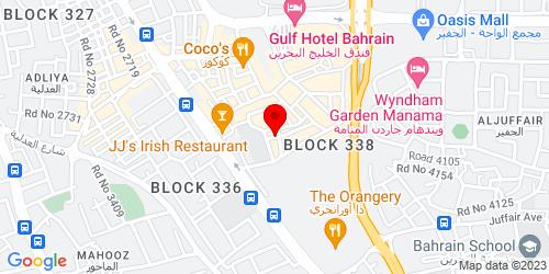 Google Map of 26.212586, 50.593689