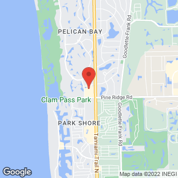 Map of Salvatore Ferragamo at 5495-19 Tamiami Trail N., Naples, FL 34108