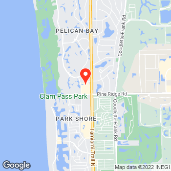 Map of Ann Taylor at 5475 Tamiami Trail N, Naples, FL 34108