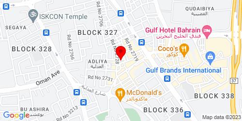 Google Map of 26.214736,50.586838