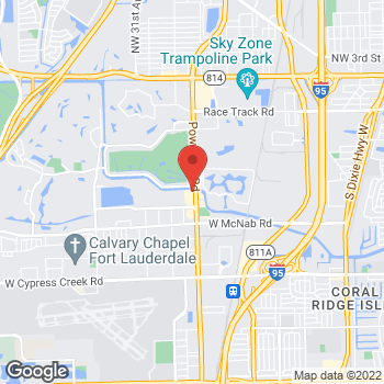 Map of Verizon Authorized Retailer, TCC at 1201 Powerline Road, Pompano Beach, FL 33069