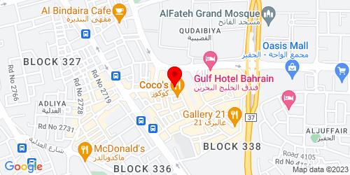 Google Map of 26.215539, 50.592284