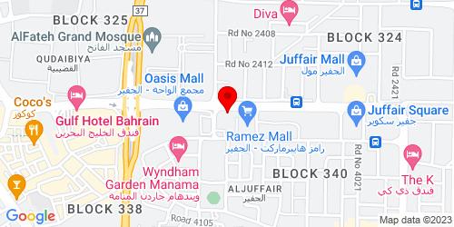 Google Map of 26.216348, 50.601574