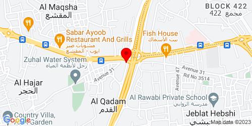 Google Map of 26.217406, 50.520602