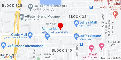 Google Map of 26.217428, 50.604856