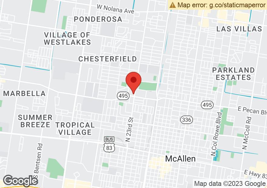 Google Map of 2300 PECAN BLVD