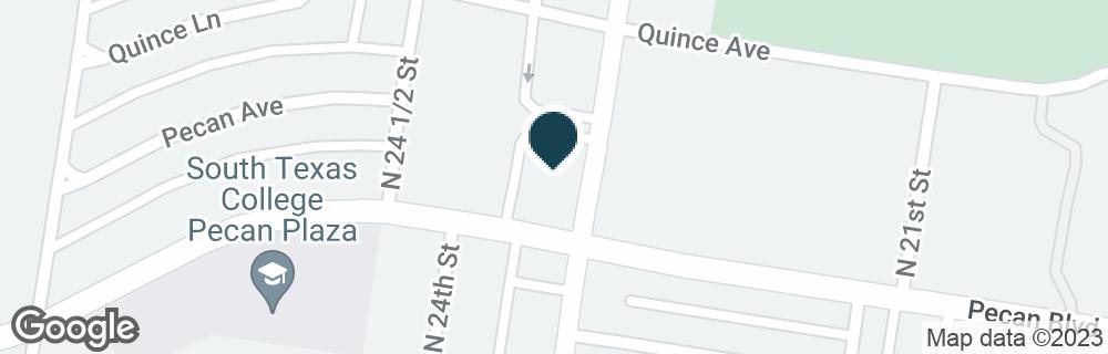 Google Map of2300 PECAN BLVD
