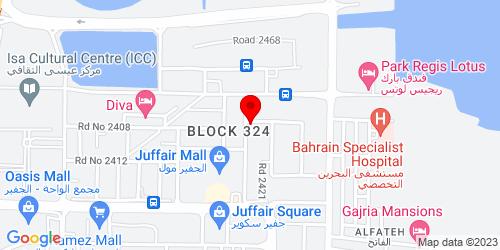Google Map of 26.219846, 50.608996