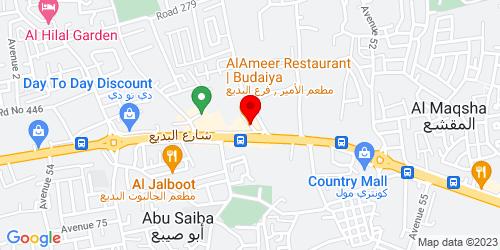 Google Map of 26.221039,50.50503