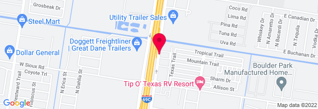 Map for Pharr Events Center